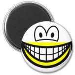 Half smile bottom  fridge_magents_magnet