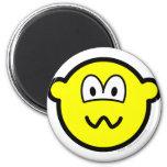 Nervous buddy icon   fridge_magents_magnet