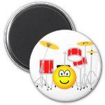 Drumkit emoticon   fridge_magents_magnet