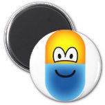Pill emoticon   fridge_magents_magnet