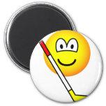 Ice hockey emoticon   fridge_magents_magnet