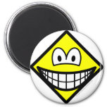Diamond smile Shape  fridge_magents_magnet