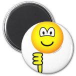 Thumb down emoticon   fridge_magents_magnet