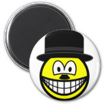 Charlie Chaplin smile   fridge_magents_magnet