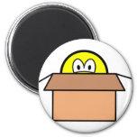 Cardboard boxed smile   fridge_magents_magnet