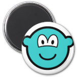 Colored buddy icon azure  fridge_magents_magnet