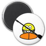 Kayak smile   fridge_magents_magnet