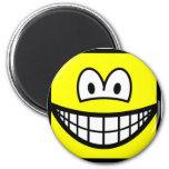 Square smile   fridge_magents_magnet