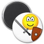 Sword fighting emoticon   fridge_magents_magnet