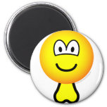 Emoticon with balls   fridge_magents_magnet