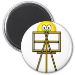 Painter emoticon   fridge_magents_magnet