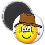 Aussie emoticon   fridge_magents_magnet