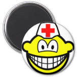 Male nurse smile   fridge_magents_magnet