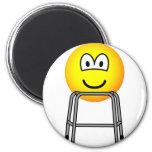 Zimmer frame emoticon   fridge_magents_magnet