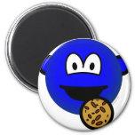 Cookie monster emoticon   fridge_magents_magnet