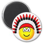 Chieftain emoticon   fridge_magents_magnet