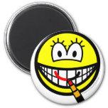 Lipstick smile   fridge_magents_magnet