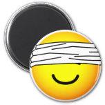 Blindfolded emoticon   fridge_magents_magnet