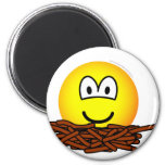 Birds nest emoticon   fridge_magents_magnet