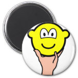 Hand held buddy icon   fridge_magents_magnet