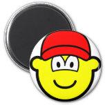 Baseball cap buddy icon   fridge_magents_magnet