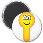 Key hole emoticon   fridge_magents_magnet
