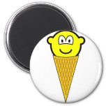 Ice cream buddy icon   fridge_magents_magnet