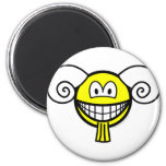 Aries smile Zodiac sign  fridge_magents_magnet