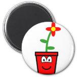 Flowerpot buddy icon   fridge_magents_magnet