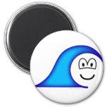 Tidal wave emoticon   fridge_magents_magnet