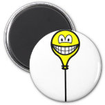 Balloon smile On a string  fridge_magents_magnet