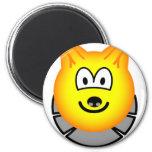 Wolf emoticon   fridge_magents_magnet