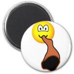 Didgeridoo emoticon   fridge_magents_magnet