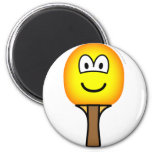Table tennis bat emoticon   fridge_magents_magnet