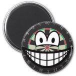 Dartboard smile   fridge_magents_magnet