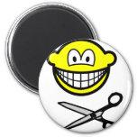 Cutting smile scissors  fridge_magents_magnet