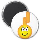 Teletubbie emoticon Laa Laa  fridge_magents_magnet