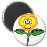 Pansy emoticon   fridge_magents_magnet