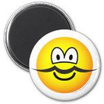 Mustache emoticon   fridge_magents_magnet