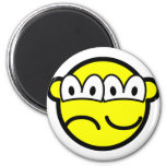 Two faced buddy icon   fridge_magents_magnet