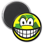 Recycle smile   fridge_magents_magnet