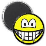 Vampire smile (before lunch)  fridge_magents_magnet