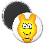 Kangaroo emoticon   fridge_magents_magnet