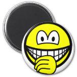 Thumb sucking smile   fridge_magents_magnet