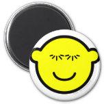 Batting eye lashes buddy icon   fridge_magents_magnet