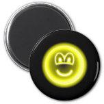 Neon light emoticon   fridge_magents_magnet