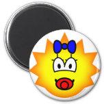 Simpson emoticon Maggie  fridge_magents_magnet