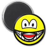 Laughing smile   fridge_magents_magnet