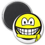 Yellow belt smile   fridge_magents_magnet