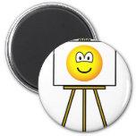 Painted emoticon   fridge_magents_magnet